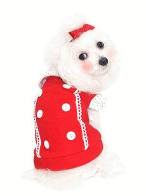 画像3: 【+180ポイント】愛犬服【メール便OK】秋冬物/パフプリティーTEE【Puppyzzang】2011