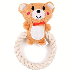 画像3: 愛犬のおもちゃ/ロープトイ リングタイプ(Parisdog)【メール便不可】パリスドッグ