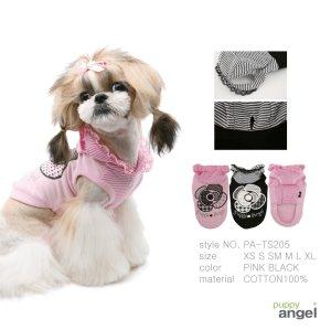 画像3: 犬 服/PUPPYANGEL/Big Rose Hoodie/PA-TS205/メール便無料/カメリア/ローズ
