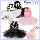 新作/White Ribbon Dress/PUPPYANGEL/PA-DR122【送料無料】
