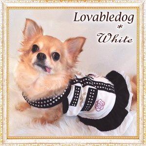 画像4: 【再々入荷】【犬 服】【2480円】カメリア&クラウンストーンのクールキュートなワンピース【LOVABLEDOG】