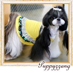 画像3: 【新作】【セール】【1780円】【犬 服】【メール便OK】キラキラスターのキャミワンピ【Pappyzznag】