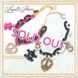 【セール】【メール便無料】ラブアンドピースのネックレス Love&Peace Necklace【コカパパ】