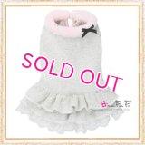 【犬 服】【30%OFF】【Sale3680円】 Cocoニッティードドレスグレー【PrettyPet】【メール便OK】
