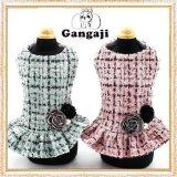 【犬 服】【新作】セレブリティーチェックドレス【Gangaji】【メール便無料】【ブランド】