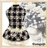 【犬 服】【新作】ラグジュアリーチェックドレス【Gangaji】【メール便無料】【ブランド】