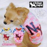 犬 服 Tシャツ トップス ロゴ トレーナー Sale NY ラグラン TEE コカパパ【1780円】メール便OK
