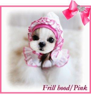 画像5: フリルフードTシャツ【puppyzzang】