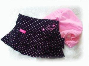 画像4: 【在庫限りsale】【L】【メール便無料】エンジェルスカート&マナーパンツ ブラック【Pinkaholic】
