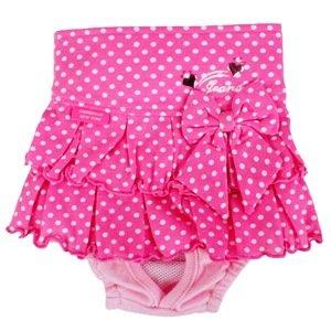 画像1: 【在庫限りsale】【M】【L】【メール便無料】エンジェルスカート&マナーパンツ ピンク【Pinkaholic】