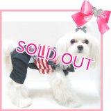 【再入荷】【半額】犬 服/愛犬[メール便OK]セール/セーラーオールインワン(つなぎ) Puppyzzang-アウトレット