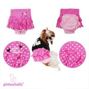 画像4: 【在庫限りsale】【M】【L】【メール便無料】エンジェルスカート&マナーパンツ ピンク【Pinkaholic】